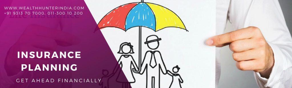 Insurance Planning, WealthhunterIndia