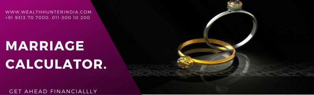 Marriage Calulator ,WealthuntrIndia